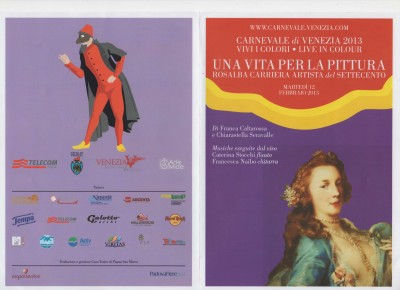 Brochure Rosalba Carriera - 1