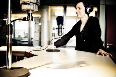 Foto Simonetta Nardi in radio