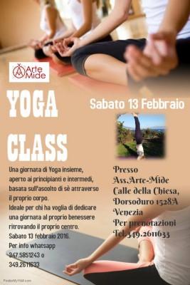 yoga class Venezia