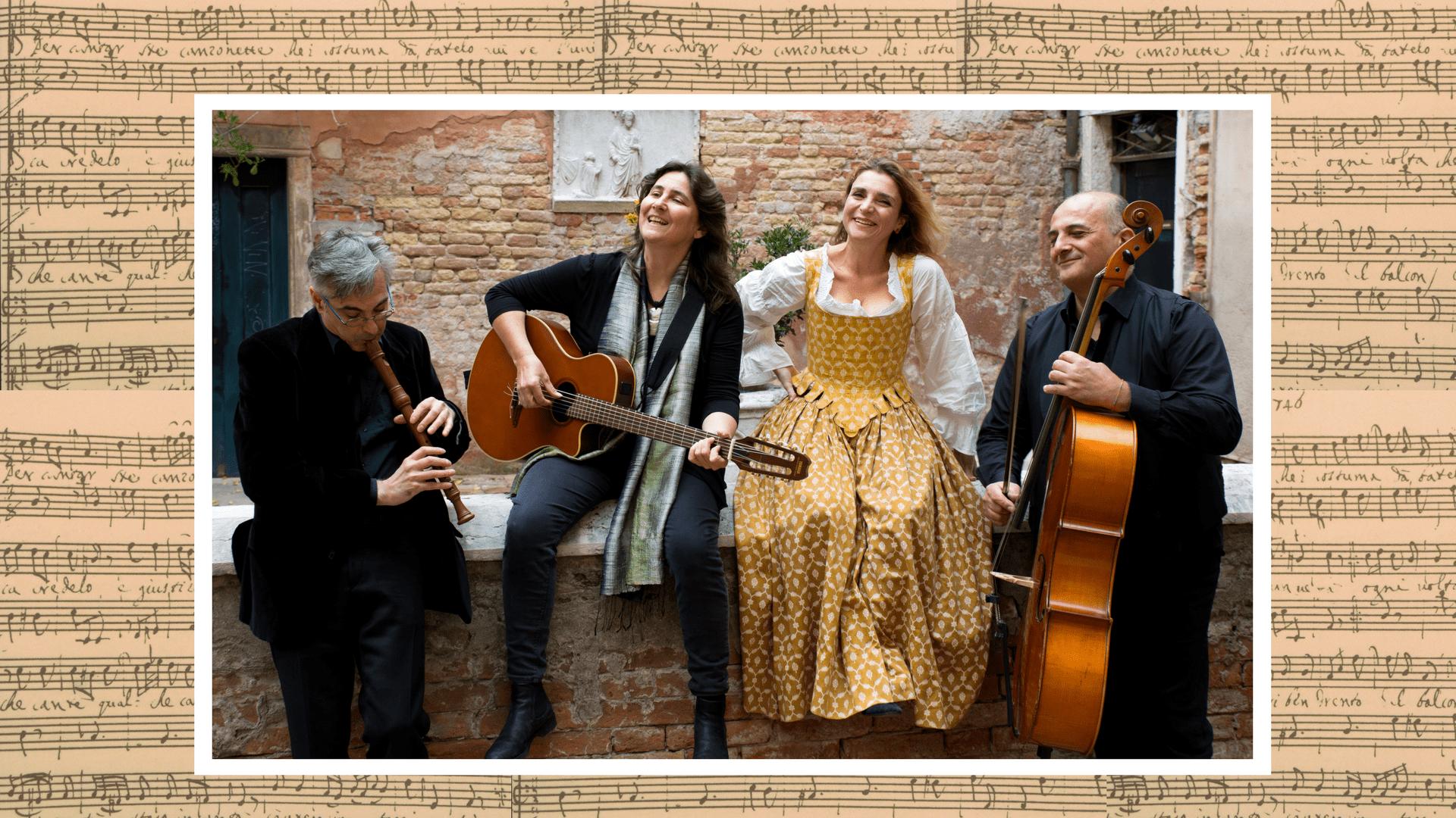 """Presentazione del CD Book """"Cantar Venezia"""" di Rachele Colombo"""