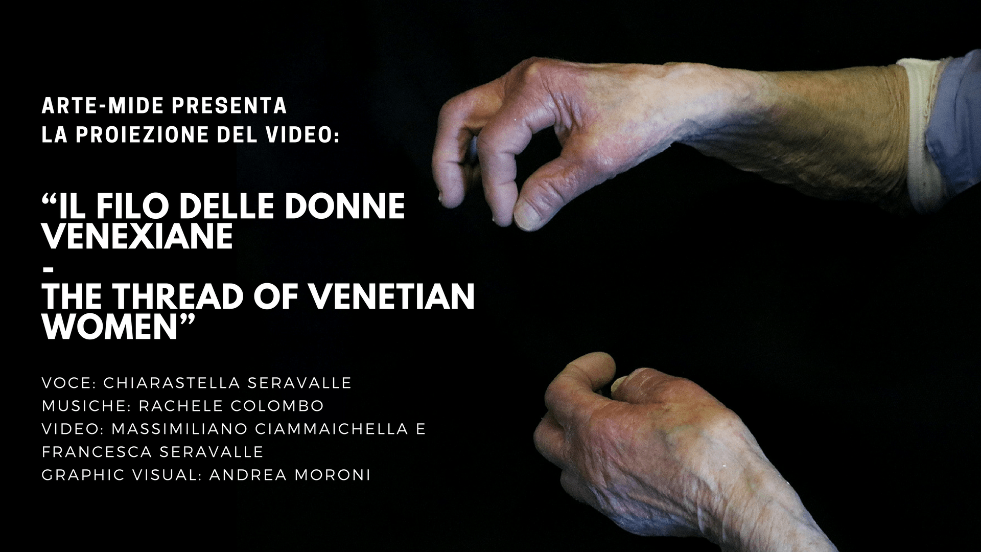 "Alla 75° Mostra Internazionale d'Arte Cinematografica di Venezia: ""IL FILO DELLE DONNE VENEXIANE – The Thread of Venetian Women"""
