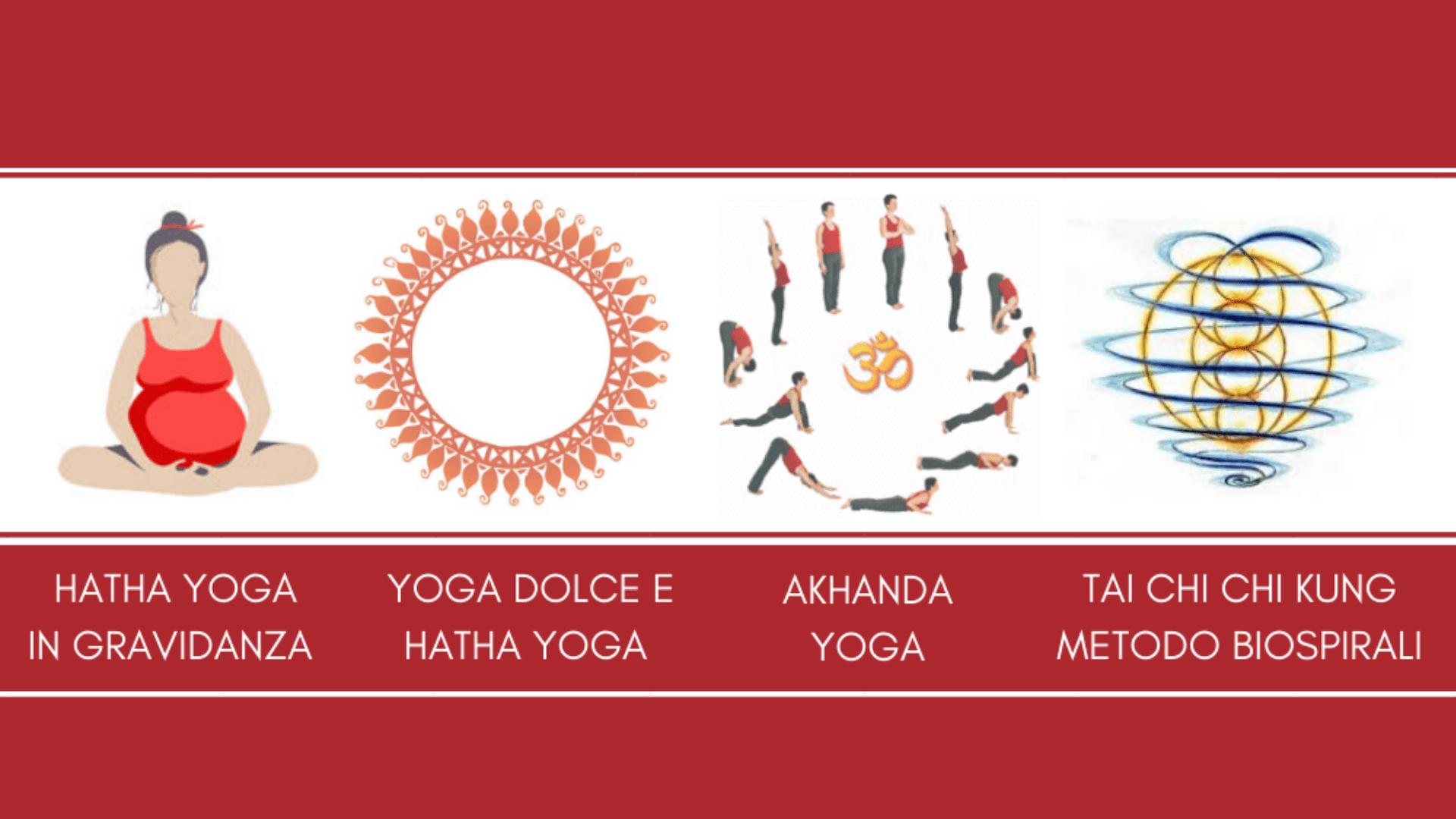Corsi di Yoga e Tai Chi 2018-2019
