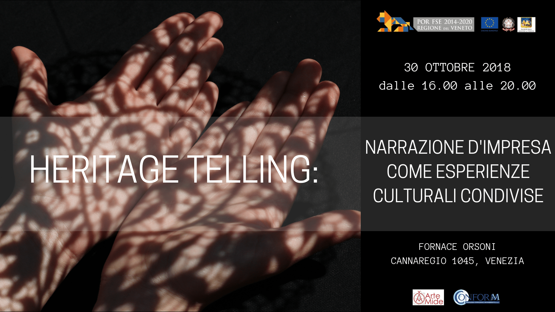 """""""Heritage Telling: narrazione d'impresa come esperienze culturali condivise"""""""