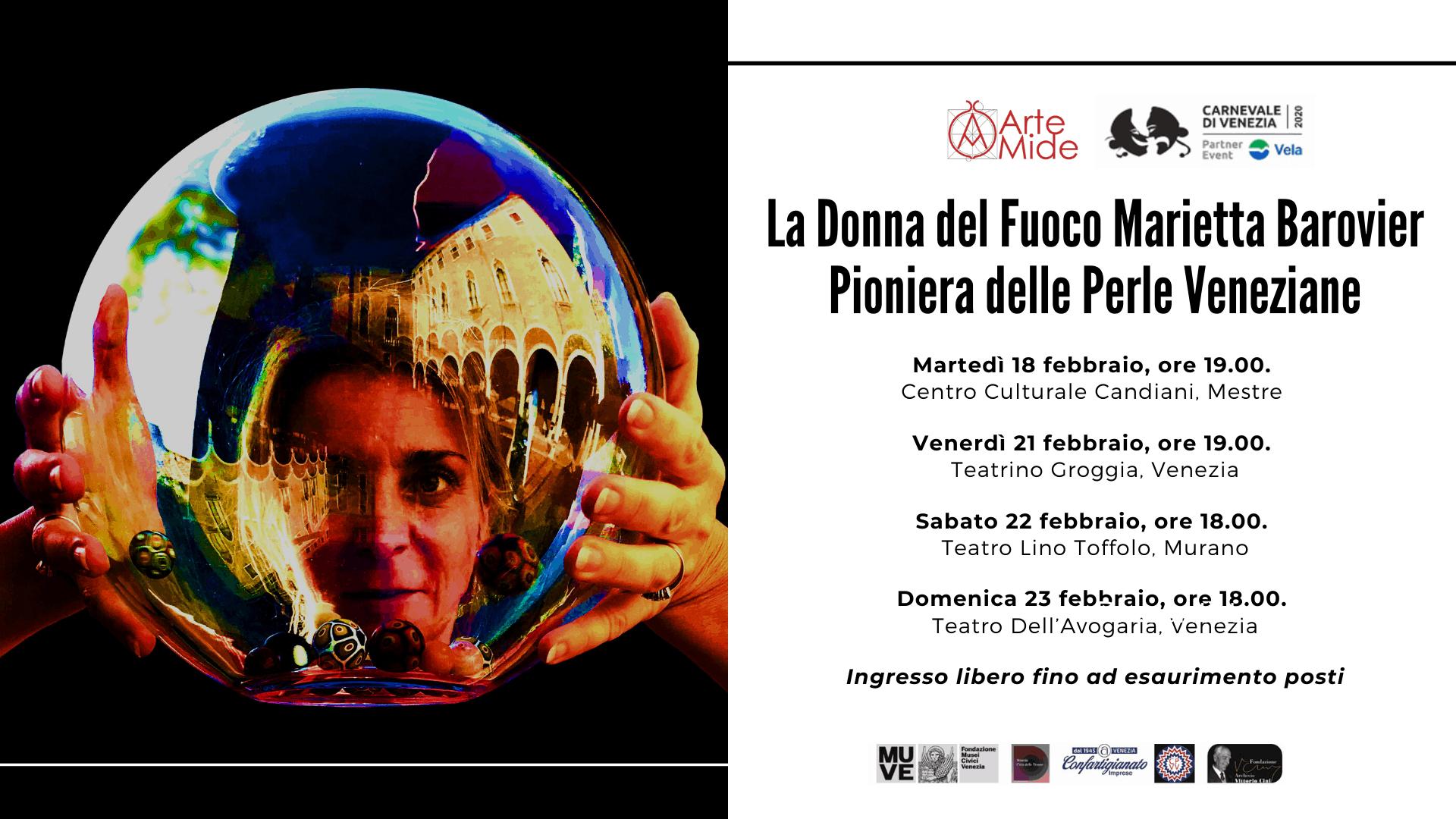 La Donna del Fuoco Marietta Barovier Pioniera delle Perle Veneziane